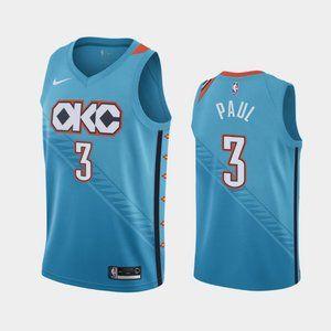 Oklahoma City Thunder Chris Paul Jersey